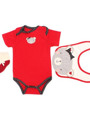 """Dress For Reborn Doll 18/20 inch """"Red Bear"""""""