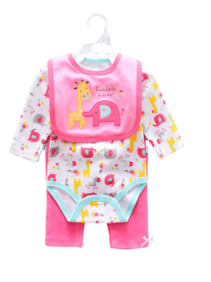 """Dress For Reborn Doll 20/22 inch """"The Elephant And The Giraffe"""""""